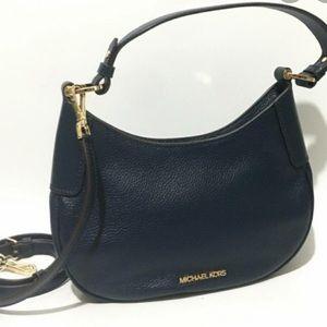 NEW MICHAEL Kors Lillian Small Leather Crossbady⭐️